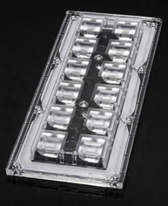 Вторичная оптика для светодиодных модулей