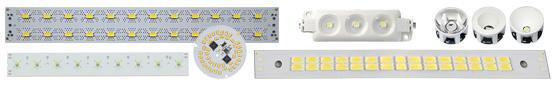 Светодиодные LED модули, светодиодные линейки для светильников